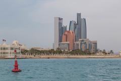 Etihad Towers from waterway (stevebfotos) Tags: uae abudhabi unitedarabemirates belevaricruise etihadtowersbuildings abudhabi2015
