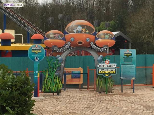 Octonauts Construction - The ride entrance