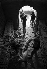 Workers Brickyard egypt (karimahmed1) Tags: new portrait people bw blakandwhite work photography photo nikon egypt egyptian workshops brickyard d7000