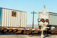 2 Tracks (Thomas Hawk) Tags: california imperialcounty inyourneighborhood niland saltonsea usa unitedstates unitedstatesofamerica railroad railroadcrossing train fav10