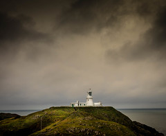 Awaiting the Storm (hemlockwood1) Tags: light house pembrokeshire wales sea atmospheric olympus strumble head moody goodwick yahoo goggle dark