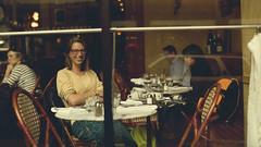 Shy...but she liked it (Dario Zarlenga . Inspiring & Beyond Photography .) Tags: dario zarlenga photo foto fotografia photography usa san francisco portrait restaurant cafe bar selfportrait shy smile happy sorriso felice feliz nice beauty linda canon 6d resto dariozarlenga dadoz