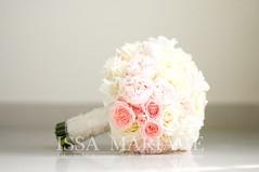 buchet nasa trandafiri roz pal (IssaEvents) Tags: buchet mireasa superb culori pale roz si ivory bucuresti valcea slatina issamariage issaevents