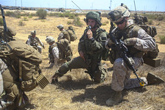 160718-M-KK554-085 (CNE CNA C6F) Tags: marinecorps marines 22ndmarineexpeditionaryunit 22ndmeu israel israeldefenseforces mout militaryoperationsinurbanterrain usssanantonio battalionlandingteam1stbattalion6thmarineregiment blt16 clb22 nobleshirley zeelimtrainingfacility