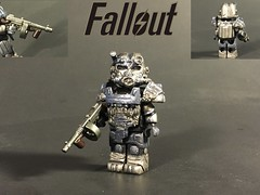Fallout T-60 Power Armor (TheBrickBrewer) Tags: brick paint arms lego painted armor minifig custom affliction fallout minifigure apoc t60 brickarms