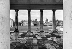 """Columns II"" Old Royal Naval College, Greenwich, London, UK (davidgutierrez.co.uk) Tags: london architecture city photography davidgutierrezphotography nikond810 nikon art urban londonphotographer blackandwhite blackwhite uk monochrome bw columns greenwich oldroyalnavalcollege travel building photographer buildings england unitedkingdom  londyn    londres londra europe beautiful cityscape davidgutierrez capital structure britain greatbritain ultrawideangle afsnikkor1424mmf28ged 1424mm d810 arts landmark attraction historic shadow light history culture black white"