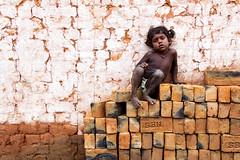 @Brick Chamber (Raja. S) Tags: chengalpet india kid rajasubramaniyanphotography rajasubramaniyan tamilnadu patterns bricks red