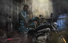 #298. I torture you I'm a slave to your games (Gui Andretti) Tags: man male boy guys modulus minimal lb madpea legalinsanity turlaccor swagbag heroes vilains second life roleplay style badass bikers hard street playing game lifestyle biker moto motorcycle hunk model