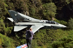 PHOTOBOMBED (Dafydd RJ Phillips) Tags: photobombed mach loop low level royal air force raf marham panavia tornado gr4