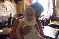 Robyn with Auntie Claire (Tim Brazier) Tags: christening robyn