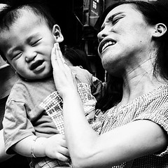 Mother&Son (Kunotoro) Tags: china street leica city people urban bw streets monochrome kids children asian photography hongkong blackwhite asia central chinese mother streetphotography streetlife soe asiapeople m246 stphotographia streetpassionaward blackwhitepassionaward flickrtravelaward