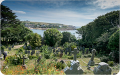 Graveyard, St. Mary's Church, Isles of Scilly. (Colin's Camera) Tags: church diving islesofscilly stmarys