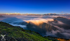 (DanielKHC) Tags: china mountain clouds sunrise nikon long exposure sichuan niu bei
