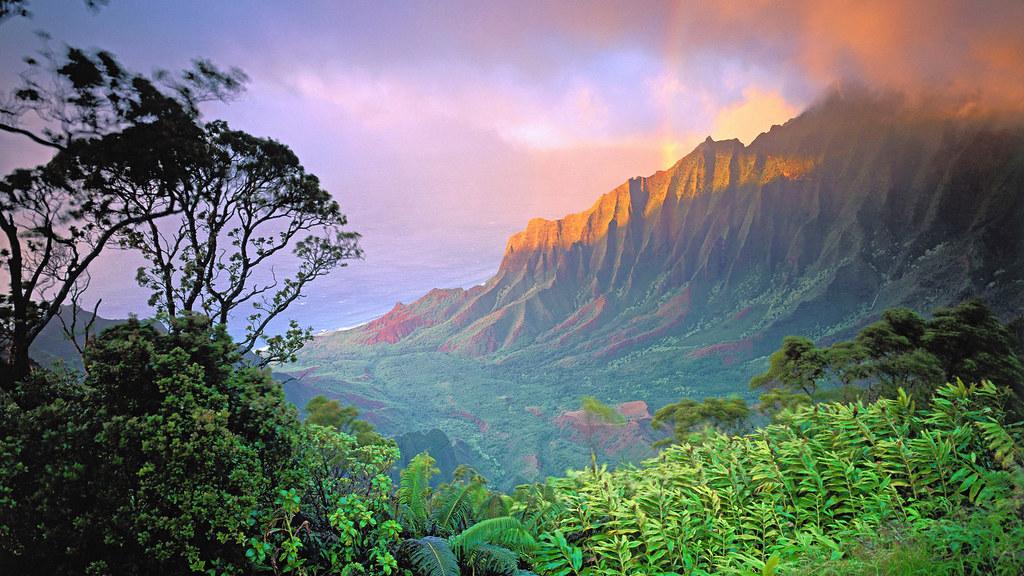 Kalalau Beach, Na Pali Coast, Kauaʻi, Hawaii, USA