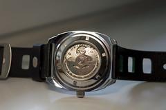 SEIKO RECRAFT (werkmania.hu) Tags: green japan japanese nikon watch timepiece automatic nik 1855 dslr seiko pattini d3200 7s26 recraft snmk97