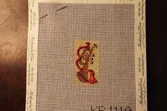 August 13 2016, Saturday (interchangeableparts) Tags: needlepoint kirkbradley toystoreadventcalendar