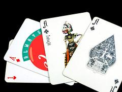 INTEGRITAS adalah INTEGRasI empaT AS (hastuwi) Tags: macromondays cards oneheart icikicik karturemi playingcards wayang unusual