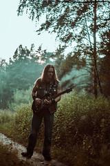 IMG_5153 (rodinaat) Tags: longhair longhairman longhairedman longhaired beard bearded metal metalhead powermetal trashmetal guitar musican guitarplayer brutal forest summer sun