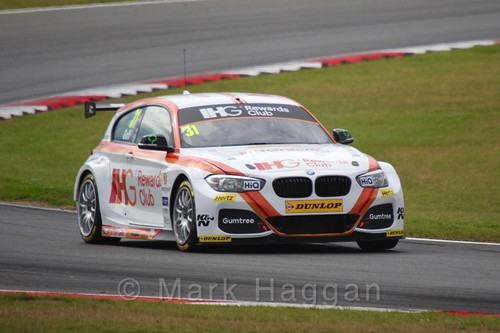 Jack Goff in Touring Car action during the BTCC 2016 Weekend at Snetterton