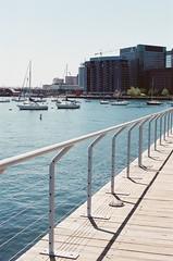 Boston Waterfront (Rachael.Robinson) Tags: boston urban waterfront water boats boat sail sailboats