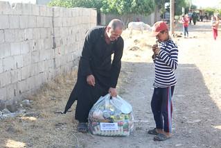 Ramadhan food relief in Houla, Homs
