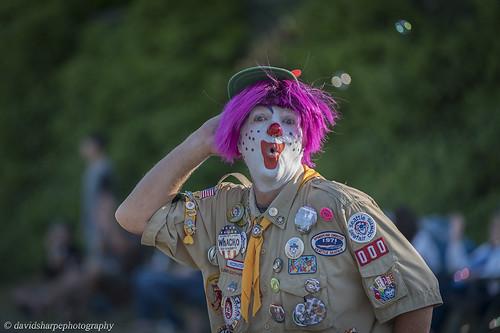 Seafair Clown