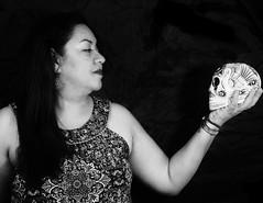 42 - La Calavera (gabthewanderer) Tags: portrait retrato lowkey lowkeyportrait clavebaja retratoclavebaja conceptual surrealphotography surreal fotografiasurreal strobist blackandwhite blackandwhitephotography blancoynegro blackandwhiteportrait retratoblancoynegro
