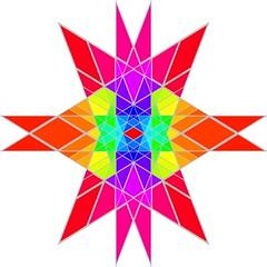 Rhombic Triacontahedron Stellation Map Texture (powerofankur) Tags: matlab mathematics geometry polyhedron rh rhombic triacontahedron texture stellation