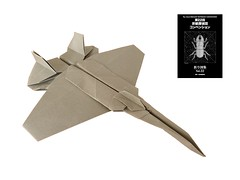 F-22 Raptor (Mdanger217) Tags: max danger f22 raptor tanteidan convention book 22 origami