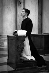 Faith (Giuseppe Cammino) Tags: 2016 5d 5dmarkiii canon canoneos5d canoneos5dmarkiii ef24105mmf4lisusm eos giuseppecammino bw blackandwhite ef priest roma lazio italy it ngc