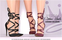 Reign.- August Luxe Box Exclusive (Kenadee Reign) Tags: luxebox luxe slink shoes secondlife reign reignberry maitreya mesh tmp summer pumps themeshproject theshops teamreign heels hourglass freya