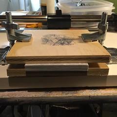 08.19.2016 (angela zammarelli) Tags: instagramapp square squareformat iphoneography uploaded:by=instagram angelazammarelli bookbinding book making
