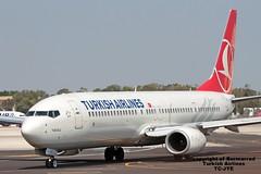TC-JYE LMML 03-09-2016 (Burmarrad) Tags: airline turkish airlines aircraft boeing 7379f2er registration tcjye cn 40979 lmml 03092016