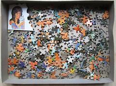 Lavender Lady (Leonisha) Tags: puzzle jigsawpuzzle puzzlepieces puzzleteile