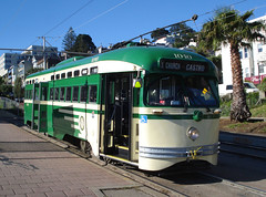 San Francisco MUNI PCC 1040 (bishop71701) Tags: sanfrancisco muni pcc streetcar trolley tram missiondelorespark f line california