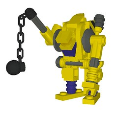 Wrecker (aurlaent) Tags: lego mecha mech moc microscale mfz mf0 mobileframezero buf3d
