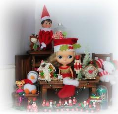 We Love Blythe Photo Comp Entry December - Christmas