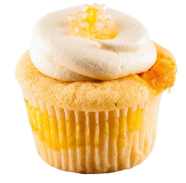 Mango Sago Cupcake