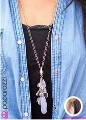 5th Avenue White Necklace K3 P2630-2