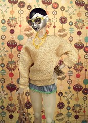 thanksgiving november toy toys gold doll dolls ooak barbie gigi custom boho basics annasui obitsu monsieurz dollsahoy
