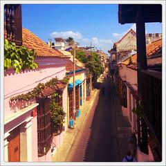 The view from Makako (MastaBaba) Tags: street hotel hostel colombia ios cartagena makako icloud cartagenadasindias 20150125