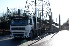 Stobart Automotive R3 MCD at Kirk Sandall 6/2/15 (CraigPatrick24) Tags: road cars car truck volvo cab transport lorry delivery vehicle trailer transporter logistics cartransporter stobart eddiestobart volvofm stobartgroup r3mcd stobartautomotive