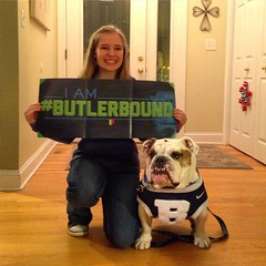 """Meet Sarah Ludwigsen of Lake Zurich, IL. Just surprised her w/ news she'll be #ButlerBound next fall! #GoDawgs #BigDawgsTour • <a style=""""font-size:0.8em;"""" href=""""http://www.flickr.com/photos/73758397@N07/15860627787/"""" target=""""_blank"""">View on Flickr</a>"""