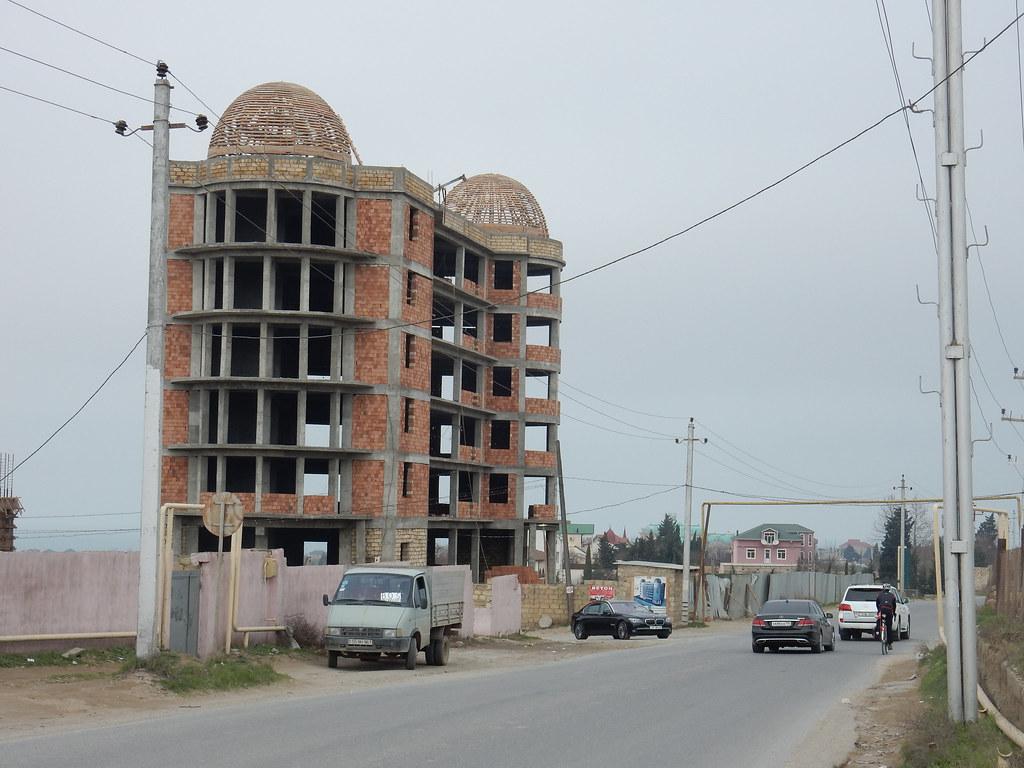 Building up in Baku
