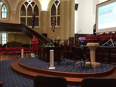 Photos from Sydney leg of trip!  Afternoon portion of Forward in Faith Conference held at The Scots Church, Margaret Street, Sydney.
