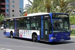 6010 FPN(E), Plaza De Los Luceros, Alicante, June 18th 2014 (Suburban_Jogger) Tags: alicante mercedesbenz 573 route22 subus plazadelosluceros 6010fpn