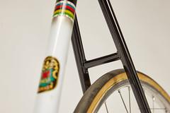 Masi Special Pista #655 (1960s) (OfficineSfera) Tags: bicycle track lo masi special hi hilo pista clement campagnolo cinelli fni pistard magistroni