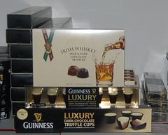 Irish Whiskey Truffles and Guinness Chocolate Truffle Cups