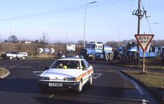 Econofreight Heavy Haul 1988 or 89 (2) (asdofdsa) Tags: transport trucks scammell hgv heavyhaul econofreight tudworthroundabout