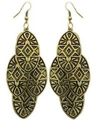 5th Avenue Brass Earrings P5030-4